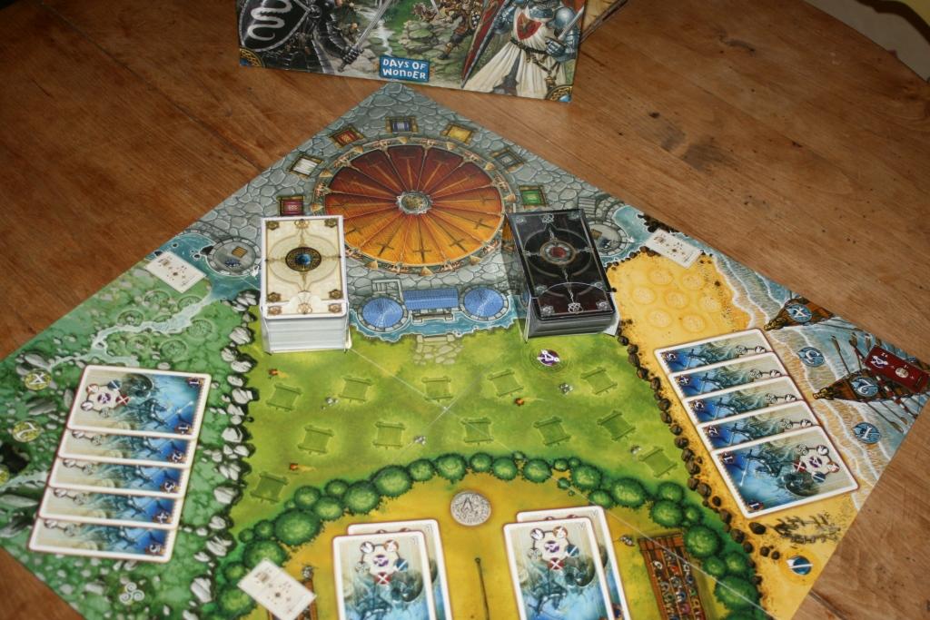 Chevaliers de la table ronde des boites pour les cartes - Les chevaliers de la table ronde days of wonder ...