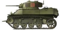 M5 A1 Stuart Américain