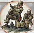 sergent donnant ses ordres