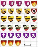 Badges.jpg Ce sont des badges que je me suis fabriqués pour compléter car je n'en avais pas assez