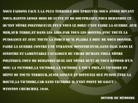 Discours de W.Churchill