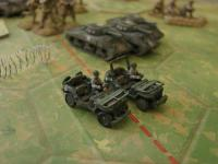 Recon or 'Patrol' unit. Miniatures from www.miniaturefigurines.co.uk, 12mm range